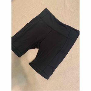 Bay leaf Black biker short